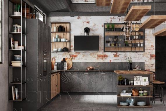 Кухня «Лофт»